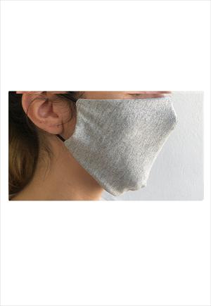 TAPABOCAS gris Packx4